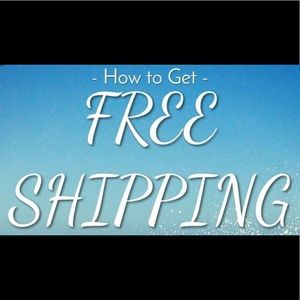 Other - How to get FREE Shipping and a Discounted Price?